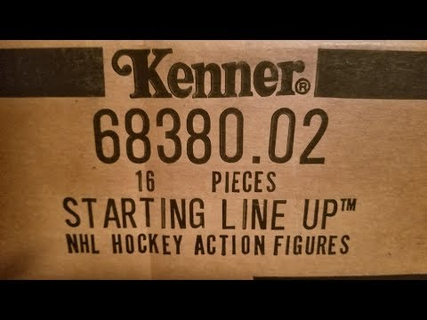 (EPISODE 1,730) THROW BACK VIDEO: 1994 NHL STARTING LINEUPS FIGURES @NHL  #TBT