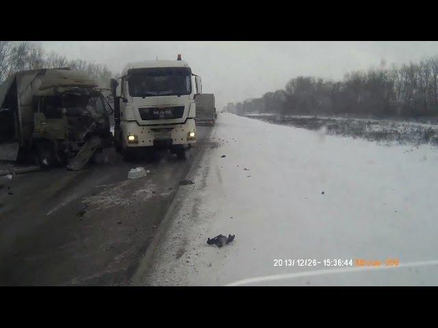Подборка ДТП / Зима-Весна 2014/ Часть 74 - Car Crash Compilation - Part 74