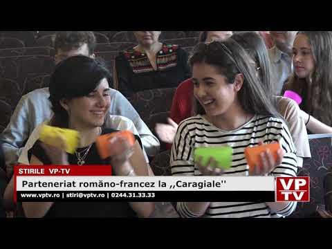 "Parteneriat româno-francez la ,,Caragiale"""