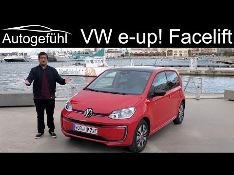 New Volkswagen e-up! FULL REVIEW with updated range 2020 - Autogefühl