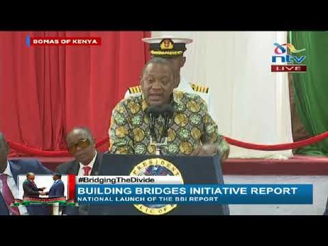 Junet usiharibu watu, 'Baba' atasoma na atatoa maoni yake - Uhuru || BBI Report