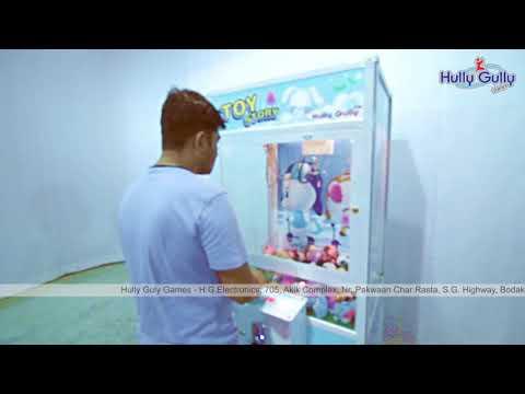 Toy Story Doll Catcher Game Machine