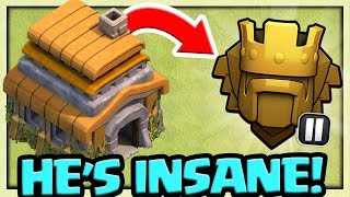 WORLD RECORD - Town Hall 6 in TITAN 2 in Clash of Clans - HOW He Did It!