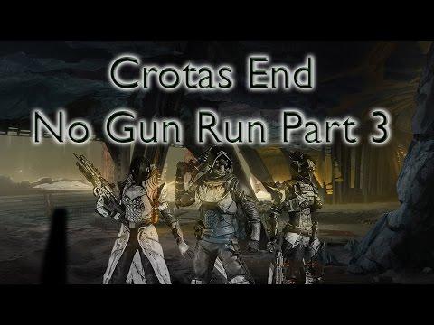 Tým Titánů prošel raid Crota's End v Destiny bez použití střelných zbraní