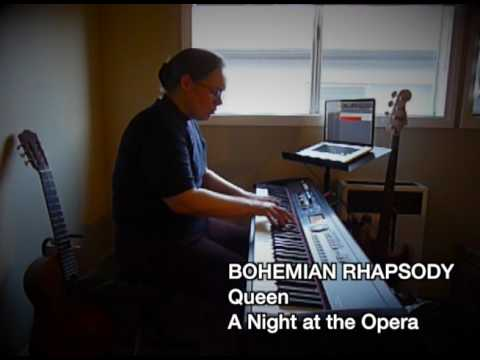 "My piano-only arrangement of Queen's Rock classic ""Bohemian Rhapsody""."