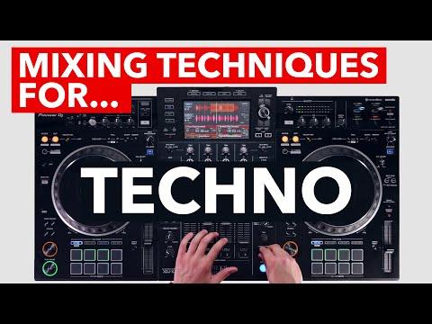 Mixing Techniques for Techno - Pioneer DJ XDJ-XZ