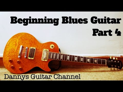 Beginning Blues Guitar - Part 4 - Lead Guitar - Minor Pentatonic Scale-Position 2 - Lesson