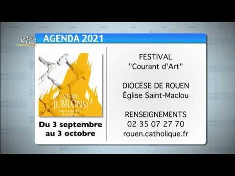Agenda du 3 septembre 2021