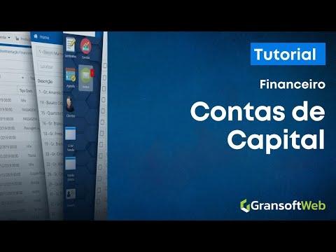 Cadastrando Contas de Capital