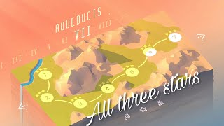 Aqueduct walkthrough World 7 - All three stars (with sounds)