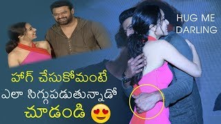 Prabhas Feels SHY To Hug Shraddha Kapoor On Stage | Saaho Press Meet | News Buzz