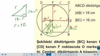 Eğitim Vadisi TYT Geometri 17.Föy Çember ve Daire 1 (Çemberde Uzunluk) Konu Anlatım Videoları