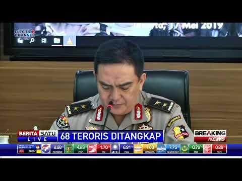 Polisi Berhasil Tangkap 68 Tersangka Teroris Selama Januari-Mei 2019