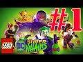 Lego DC Super Vilains FR   Gameplay #1 Nouvelle Recrue
