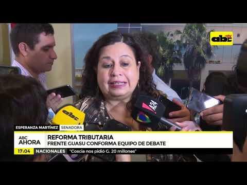 Reforma tributaria: Frente Guasu conforma equipo de debate