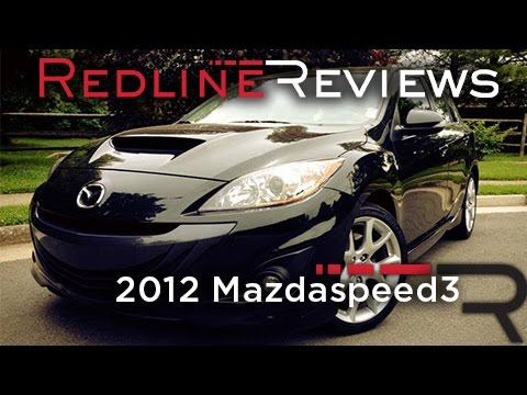 2012 Mazdaspeed3 Review, Walkaround, Exhaust, & Test Drive