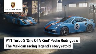 Flying colours: Porsche remembers Mexico's racing hero