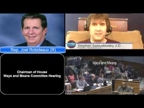 Ways and Means Chair Robideaux: Jindal\'s SAVE Act, most liberal, ever