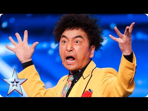 Watch This Japanese Magician's Crazy Act
