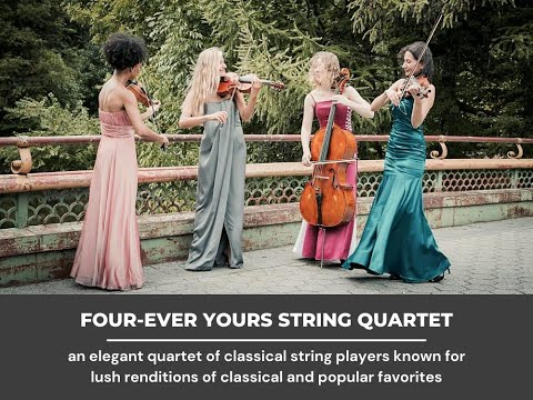 """""""Tales from the Vienna Woods Waltz J Strauss Jr"""" - Four-Ever Yours Wedding String Quartet"""