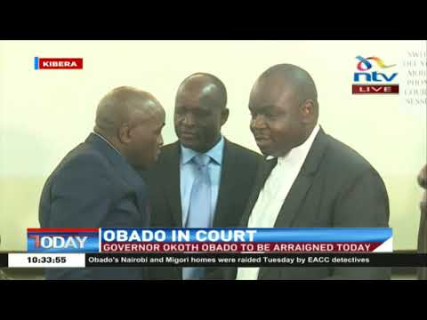 Obado taken to Kibera court under tight security