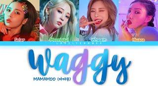 mamamoo waggy lyrics easy - TH-Clip