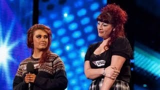 Gambar cover Like Mother, Like Daughter sing Plan B She Said - Britain's Got Talent 2012 audition - UK version