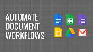 Automate Document Workflow with Google Docs, Gmail, Google Forms,  and Sheets