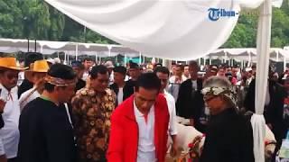 Jokowi Menghadiri Acara Puncak Jambore Peternakan Nasional 2017