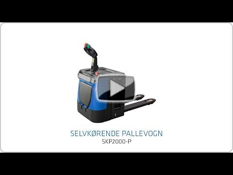 Elektrisk palleløfter med servo styring - 2000 kg.