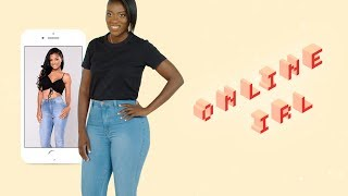 This Is What 7 Pairs of Fashion Nova Jeans Look Like In Real Life   Online, IRL   ELLE