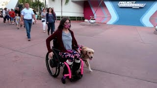 ♿ First Adventure with My Wheelchair… At Disney! 🚝 (10/27/17)