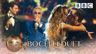 Andrea Bocelli Duets 'Fall On Me' With His Son Matteo    BBC Strictly 2018