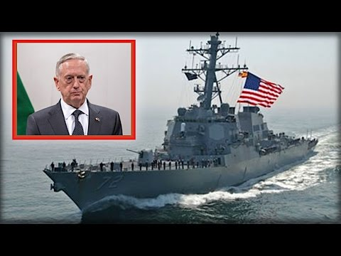 BREAKING: ARMED IRANIAN SHIP JUST MET A US DESTROYER, LOOK WHAT WE JUST FIRED AT IT