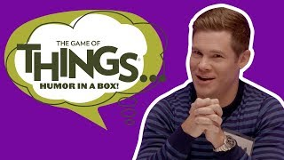 Adam Devine Plays The Game of THINGS… with Ellen Staffers!