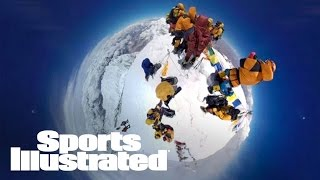 Climb Mount Everest In A Groundbreaking VR Experience | 360 Video | Sports Illustrated
