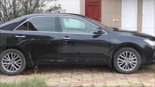 Тойота Камри   первый год эксплуатации