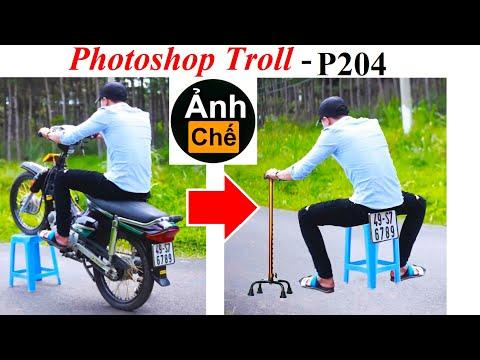 Ảnh Chế  💓 Photoshop Troll (P 204), James Fridman, Bốc đầu xe và cái kết…