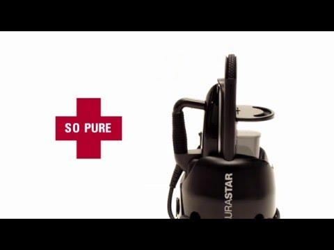 Laurastar Lift Plus Ultimate Black: eine neue Art zu Bügeln