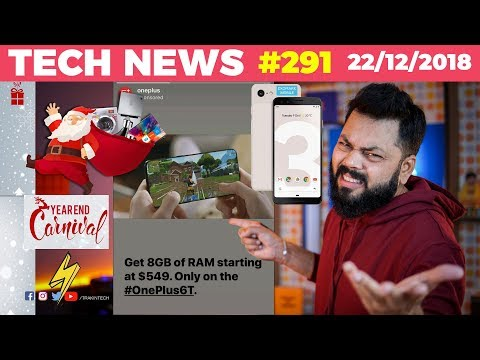 OnePlus Dont Do This, Best Games of 2018, Electronics 2b Cheaper,Pixel 3 Surprising DXOMark -TTN#291