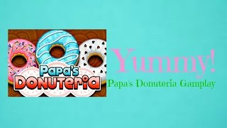 Coolmath Games: Papa's Donuteria #1 (OLD VIDEO)