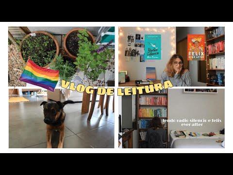 Lendo Radio Silencio e Felix Ever After + organizando minha estante | vlog de leitura 01 ?