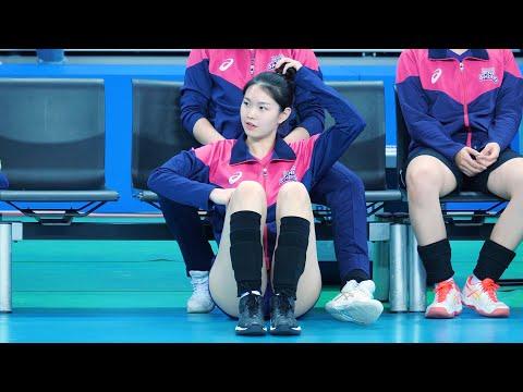 여고생 여자 배구선수 이유안 - 흥국생명 핑크스파이더스 19-20 chulwoo 직캠(Fancam)