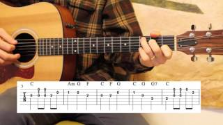 The First Noel - Beginner Guitar - Simple Melody