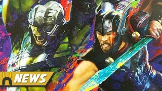 Thor Ragnarok FIRST LOOK at Gladiator Hulk & Thor Armor