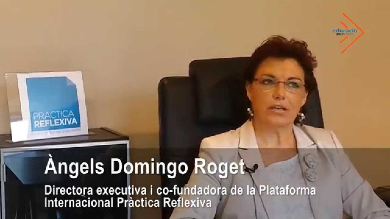 El docent com a arquitecte i dissenyador de situacions d'aprenentatge - Àngels Domingo