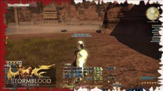 FFXiV clearing loch, finishing STORMBLOOD and unlocking expert roulette (Part 1)