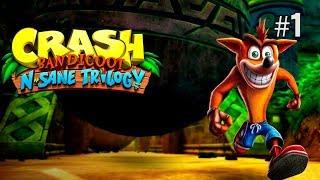 Twitch Livestream | Crash Bandicoot 100% Playthrough Part 1 [Xbox One]