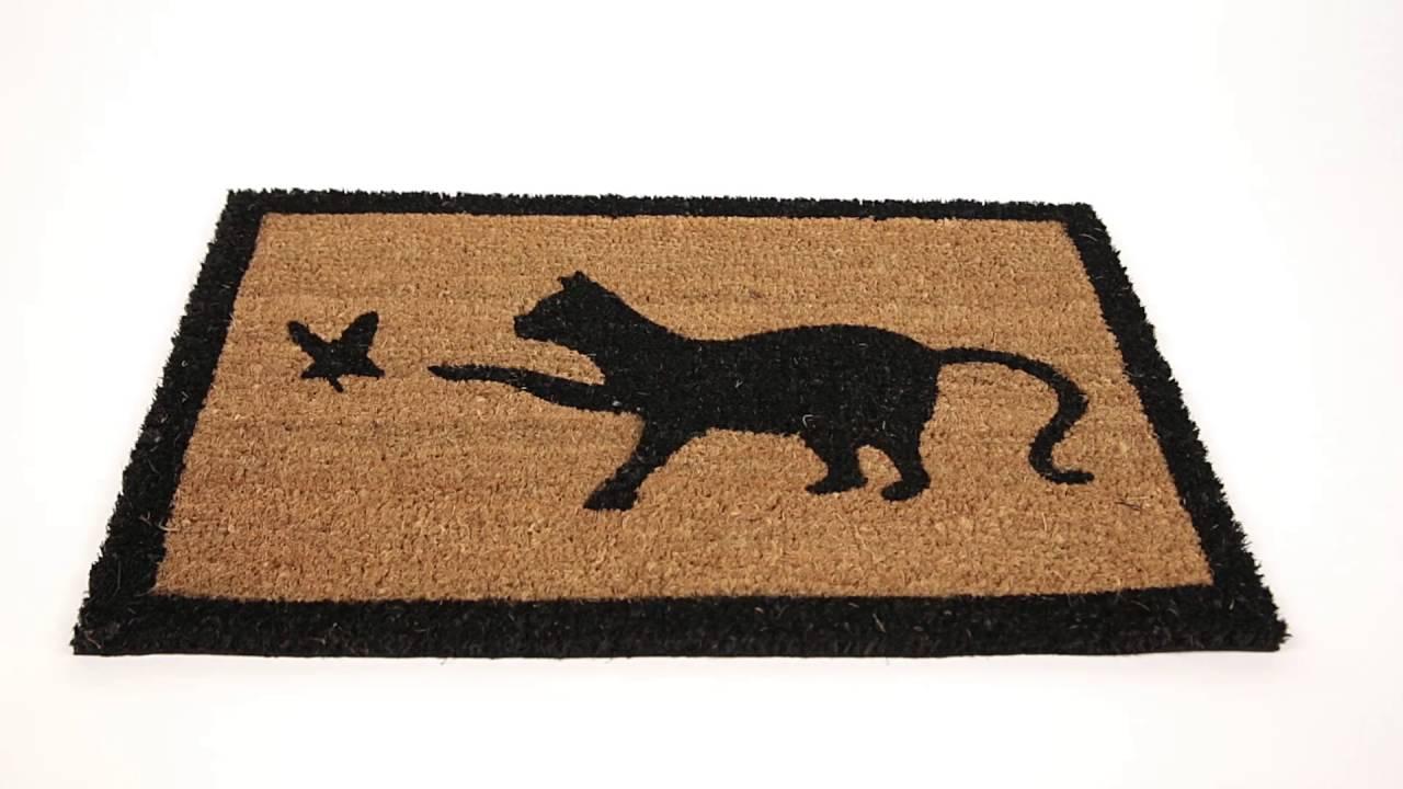 Video von: Fußmatte 'Katze' Kokos 40x60 cm
