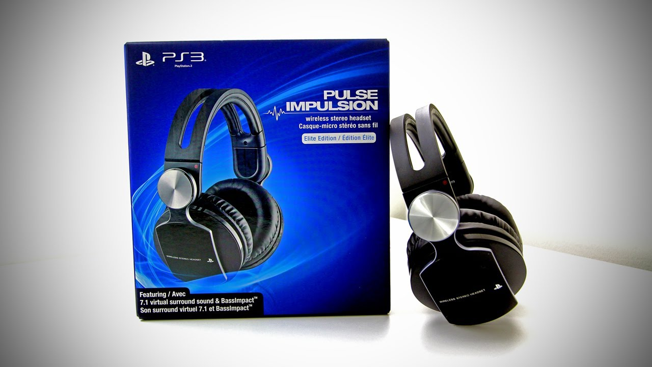 PS3 PULSE Wireless Stereo Headset Elite Edition Unboxing (New PlayStation 3 Wireless Gaming Headset) thumbnail